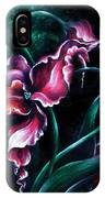 Pink Fuschia Orchid. Dance Of The Nature IPhone Case
