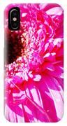 Pink Gerber IPhone Case