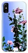 Pink Hibiscus IPhone Case