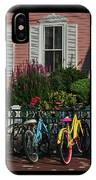 Pink House Bikes Cape May Nj IPhone Case