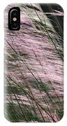 Pink In The Wind   IPhone Case