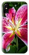 Pink Lilly IPhone Case