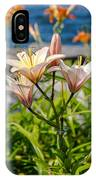 Pink Lily By The Lake IPhone X Case