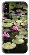 Pink Lily Pads IPhone Case