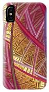 Pink Lines IPhone Case