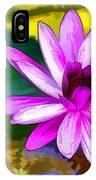 Pink Lotus Gallery  IPhone Case