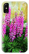 Pink Lupine IPhone Case