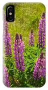 Pink Lupins IPhone Case