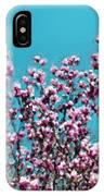 Pink Magnolia Splendor IPhone Case