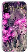 Pink Majestic Garden- Art By Linda Woods IPhone Case
