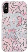 Pink Marble Chanel IPhone Case