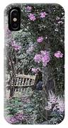 Pink Muted Garden Respite IPhone Case