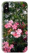Pink Oleanders IPhone Case