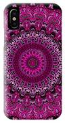 Pink Passion No. 7 Mandala IPhone Case