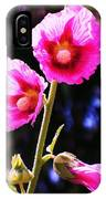 Pink Red Flower IPhone Case