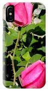 Pink Rose Buds IPhone Case