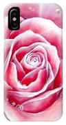 Pink Rose Flower IPhone Case