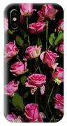 Pink Roses 1 IPhone Case