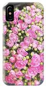 Pink Roses Photograph IPhone Case