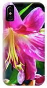 Pink Rules - Impasto IPhone Case