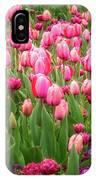 Pink Tulips At Floriade In Canberra, Australia IPhone X Case