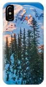 Pinnacle Saddle Winter IPhone Case