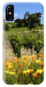 Pinot Noir And Poppies IPhone Case
