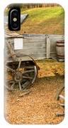 Pioneer Wagon And Broken Wheel IPhone Case