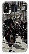Pipe Band Highland Games Scotland IPhone Case
