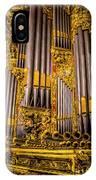 Pipe Organ Detail IPhone Case