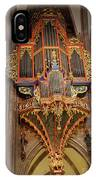 Pipe Organ In Strasbourg Cathedral IPhone Case
