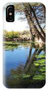 Pipe Springs Pond IPhone Case