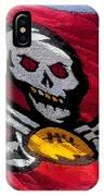 Pirate Football IPhone Case
