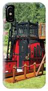 Pirate Ship Playhouse Wood Pirate Ship Playhouses IPhone Case