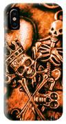 Pirates Treasure Box IPhone Case