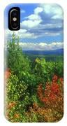 Pisgah State Park Foliage IPhone Case