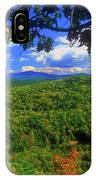 Pisgah State Park Ridge Trail View IPhone Case