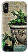 Pissarro Inspirational Quote IPhone Case