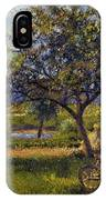 Pissarro: Wheelbarr., 1881 IPhone Case