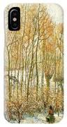 pissarro19 Camille Pissarro IPhone Case