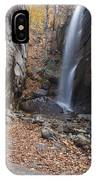 Pitcher Falls - White Mountains New Hampshire IPhone Case