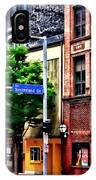 Pittsburgh Pa - Liberty Ave And Smithfield Street IPhone Case