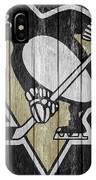 Pittsburgh Penguins Barn Door IPhone Case