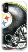 Pittsburgh Steelers Helmet IPhone Case