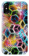 Pixelated Cubes IPhone Case