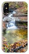 Pixley Falls State Park Lesser Falls IPhone Case