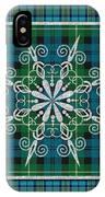 Plaid Snowflakes-jp3704 IPhone Case