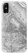 Plan Of The City Of New York IPhone Case