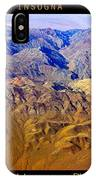 Planet Art Death Valley Mountain Aerial IPhone Case