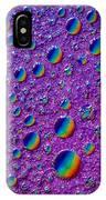 Planetary Rainbow Drop Alignment IPhone Case